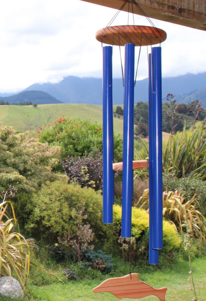 Windchime, Mountain Stream, made in New Zealand by Magnolia Windchimes